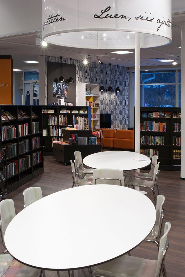 Remontoitu kirjasto 2010