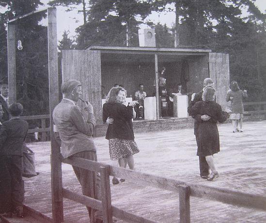 Käpylän VPK:n lava 1945
