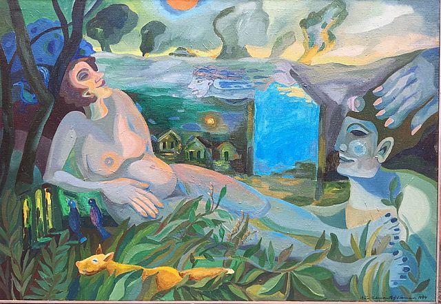 Eila Ekman-Björkmanin taulu