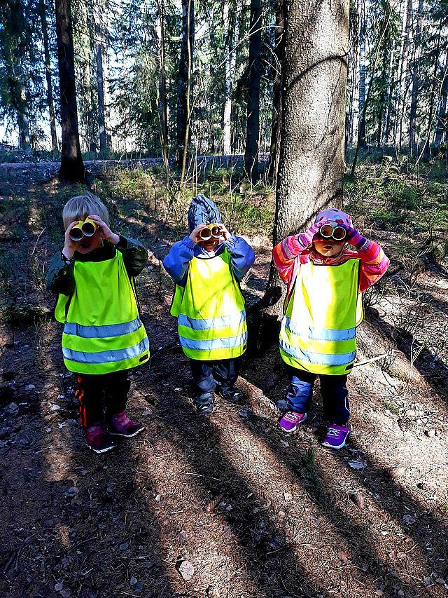 ulkokerho muuttaa metsään