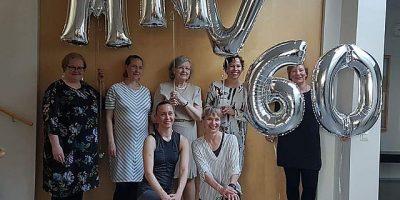 Maunulan Naisvoimistelijat 60 vuotta