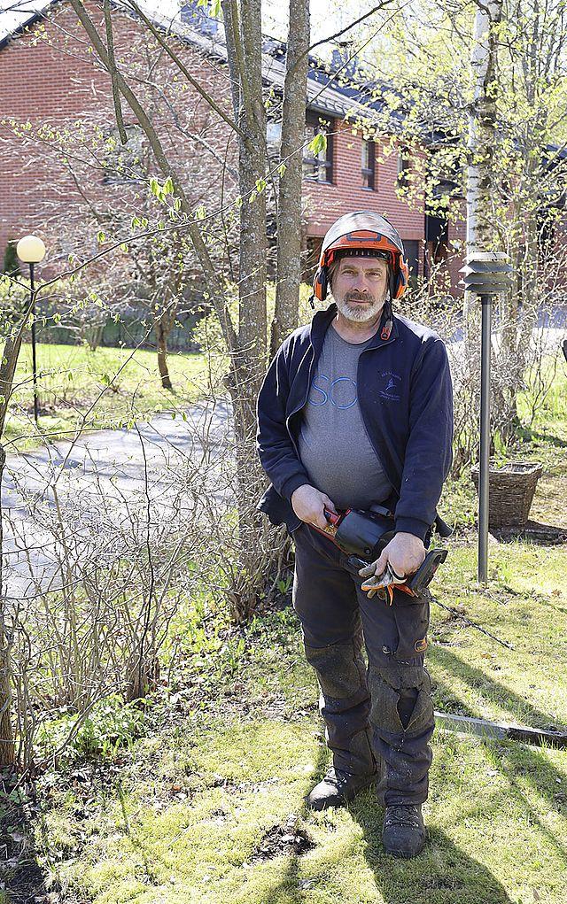 puunhoitaja Kaj Vogt