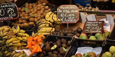 espanjan kurssi kasviksia Malagassa