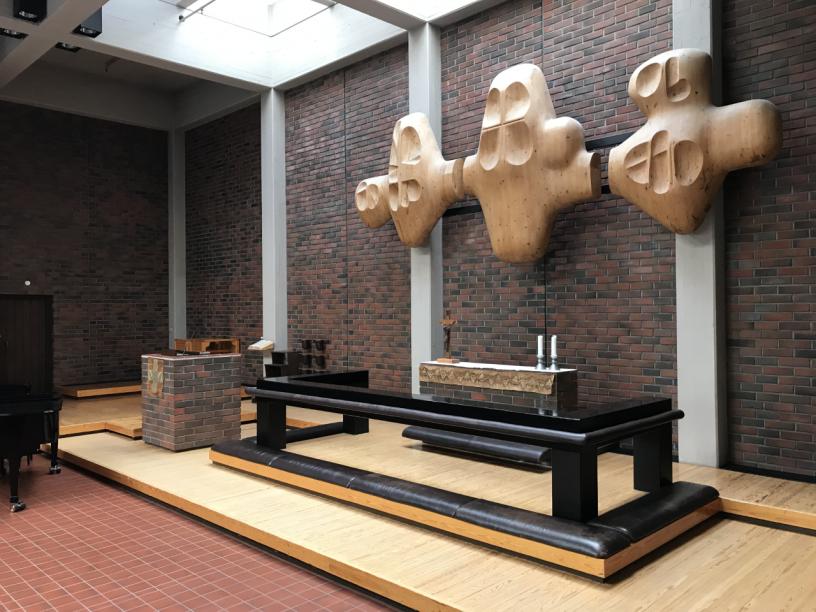 Oulunkylän kirkko alttari