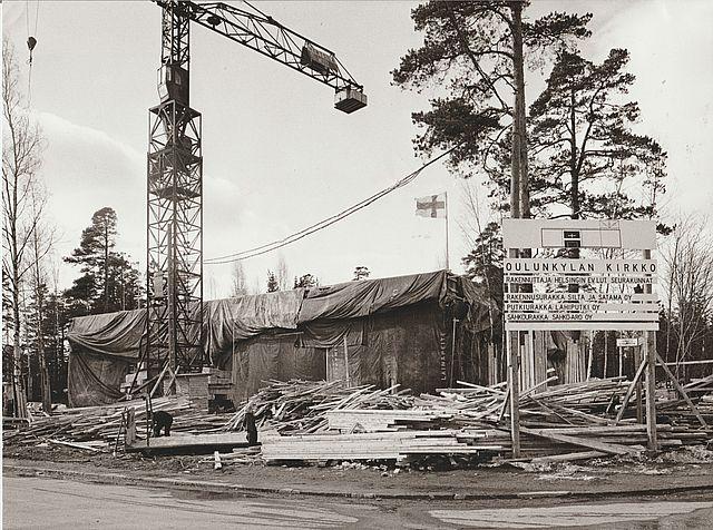 Oulunkylän kirkon harjannostajaiset