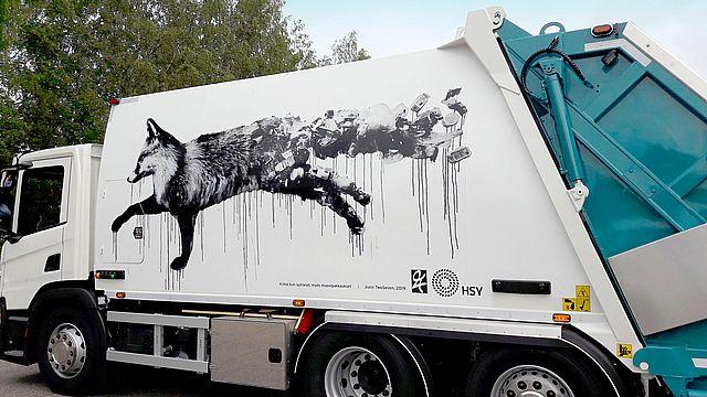 Jussi Twosevenin taideteos