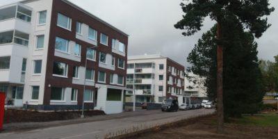 Patolan uudet talot