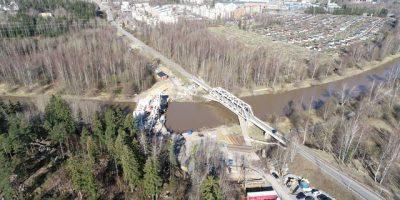 Raide Jokeri tulvaniityn silta