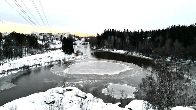 Pikkukosken jääkaruselli kuva Henri Palmqvist