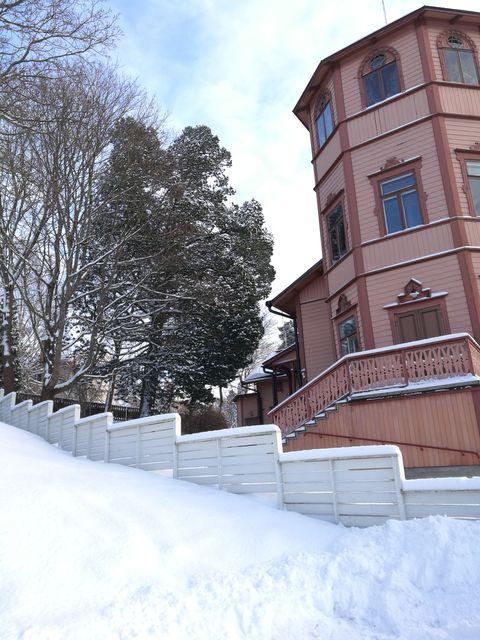Seurahuone talvella kuva Marja Markko