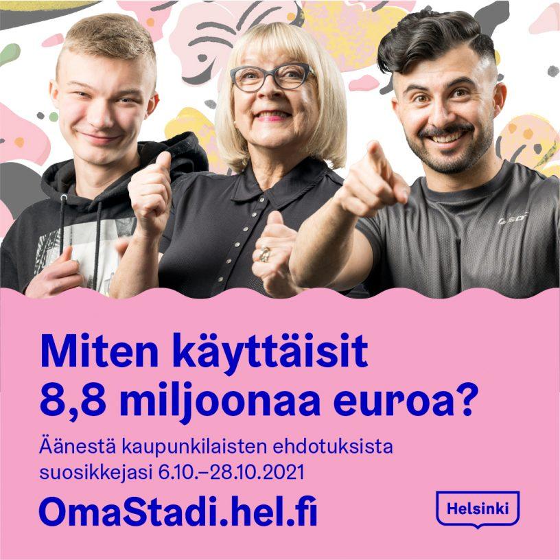OmaStadi Minna Alanko